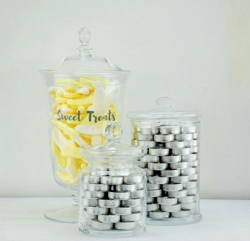 Set of 3 Large Jars June Lumi